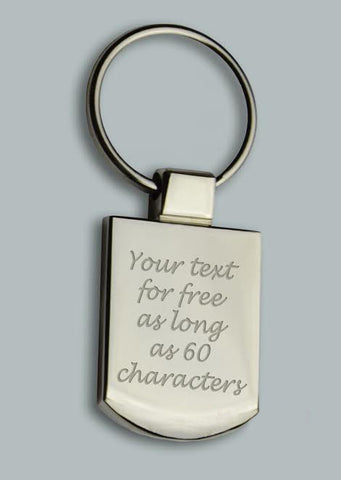 Personalized Metal Key Ring With Free Gift Box