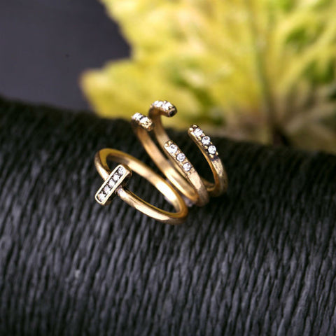 Antique 3pc/set Finger Ring