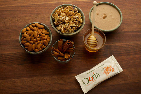 Oorja protein bar ingredients