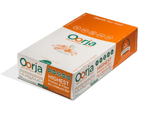 Box of 12 Oorja Protein Bars Almond Chicory Flavor