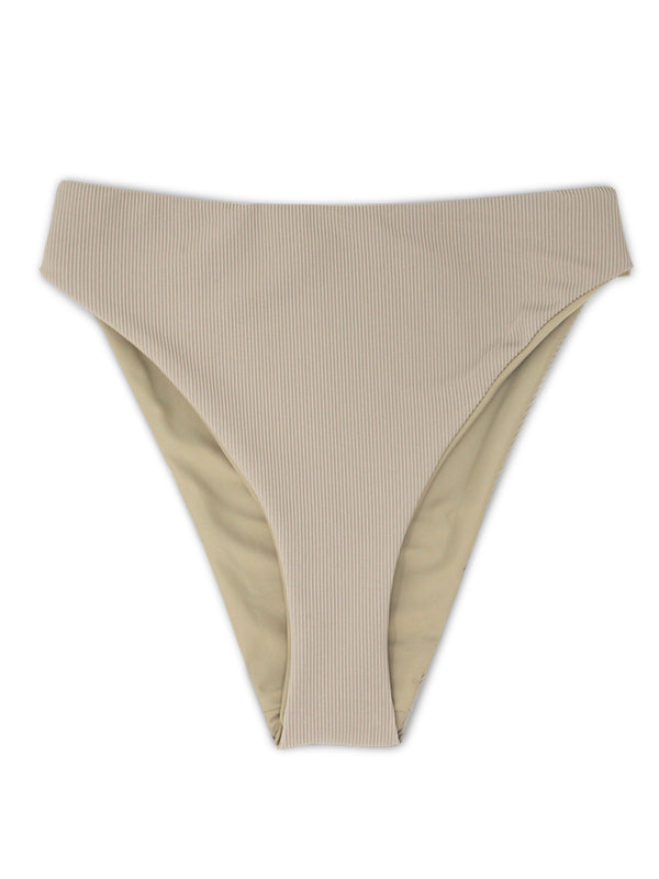 DEVI bottoms - Ribbed Taupe