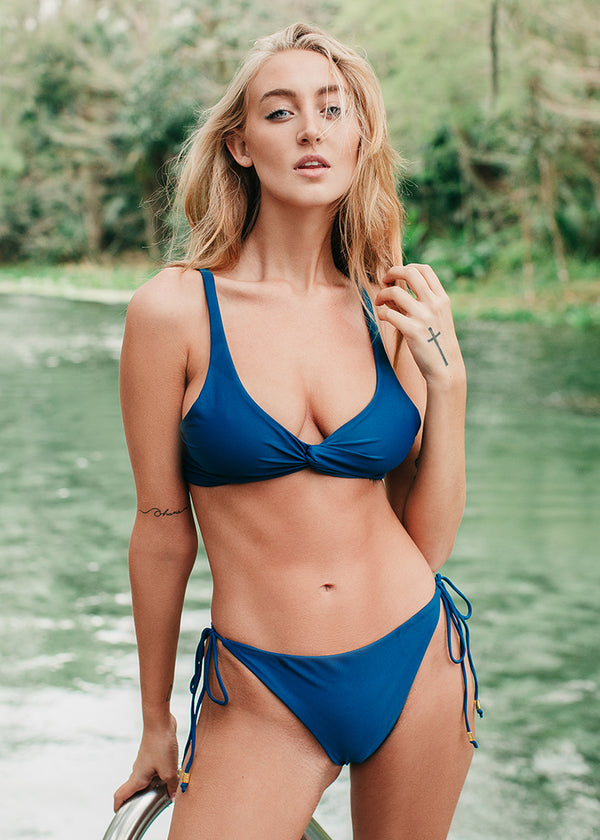 SOVANNA top - Pacific Blue