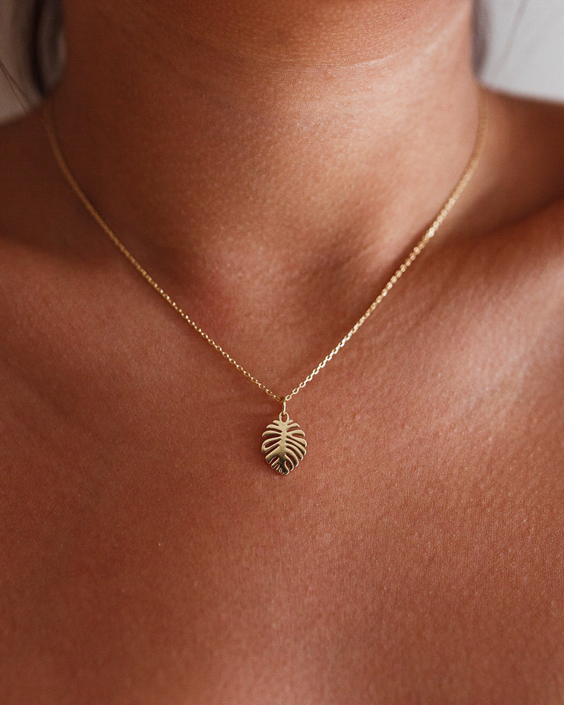 Monstera Necklace - Serei Swim