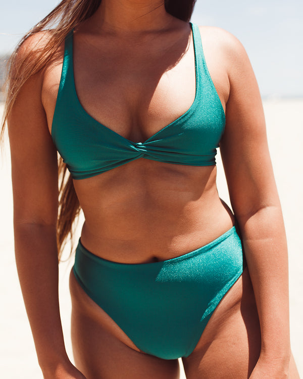 NARY bottoms - Mermaid Green - Serei Swim