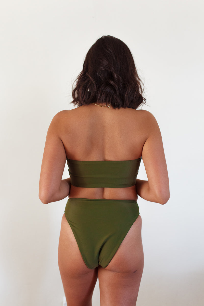 DEVI bottoms - Olive