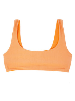 DARA top - Ribbed Melon - Serei Swim