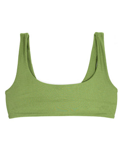 DARA top - Luxe Green - Serei Swim