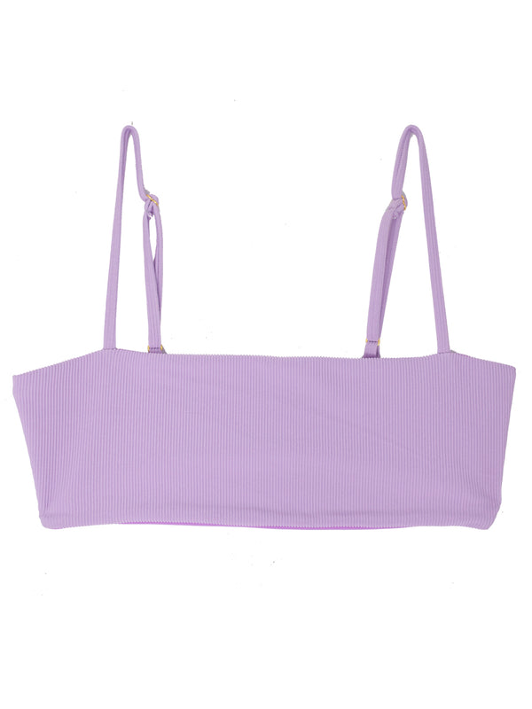 TEVVY top - Ribbed Purple