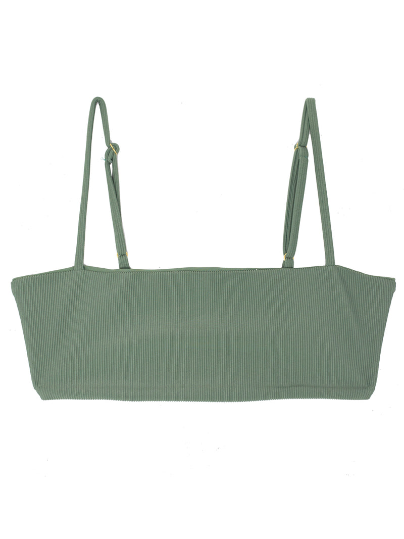 TEVVY top - Ribbed Sage