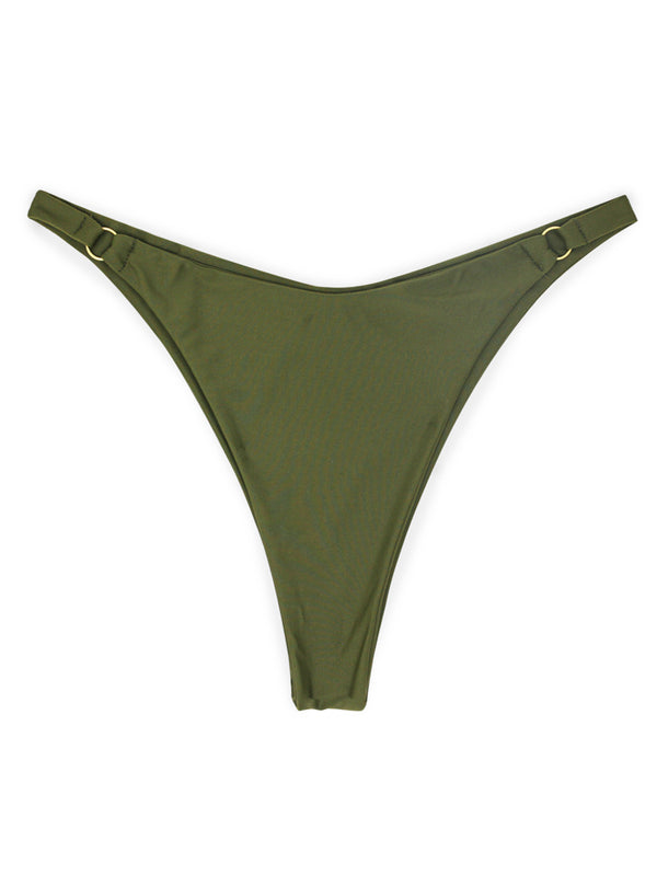 SELENA bottoms - Olive