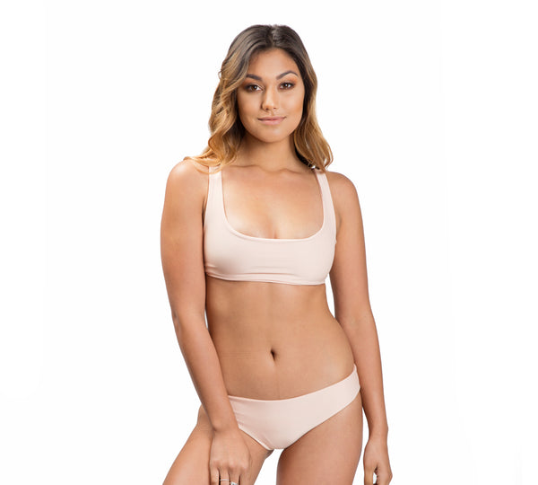THYDA bottoms - Blush - Serei Swim