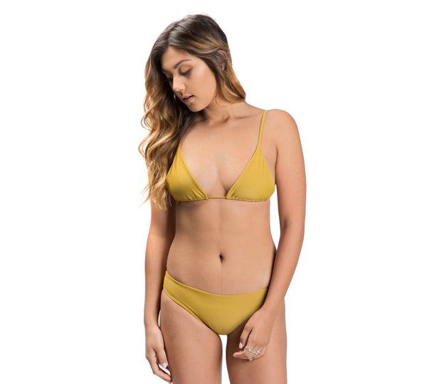 THYDA bottoms - Mustard
