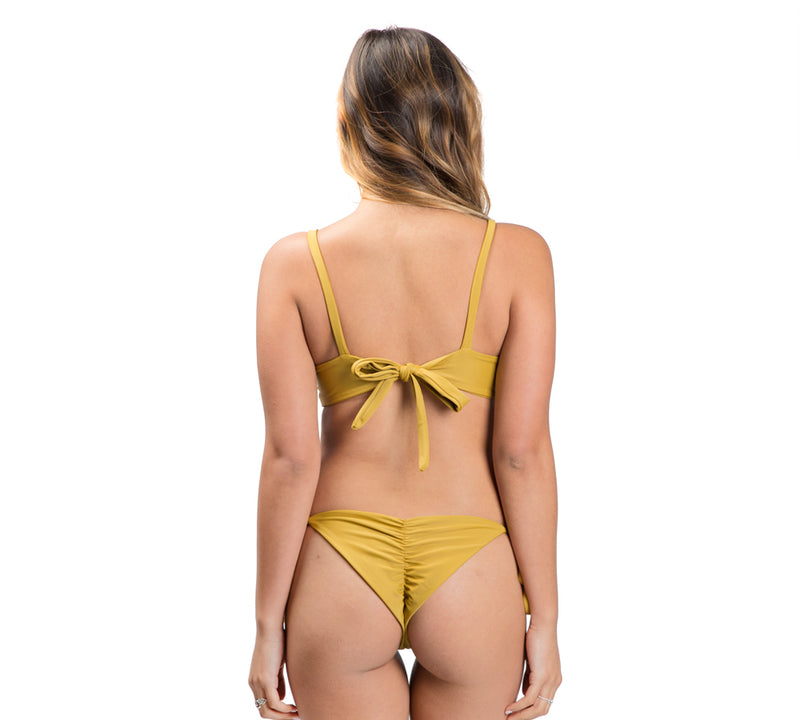 SOVANNA top - Mustard
