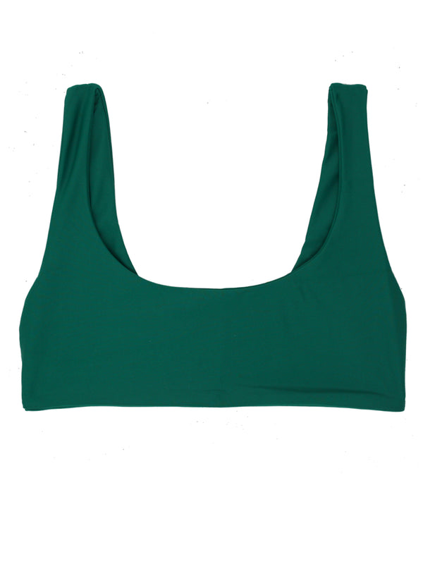 DARA Scoop Neck Bikini - Emerald - Serei Swim