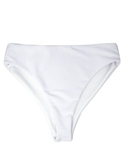 NARY bottoms - Ribbed White - Serei Swim