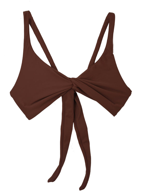 SOVANNA top - Espresso - Serei Swim