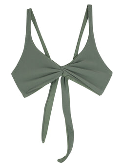 SOVANNA top - Ribbed Sage - Serei Swim
