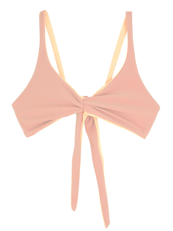 SOVANNA top - Ribbed Blush