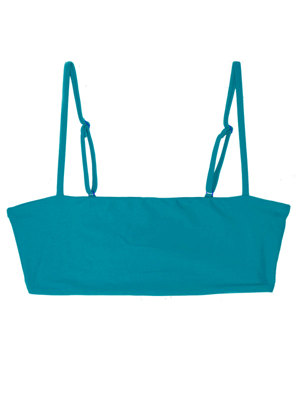 TEVVY top - Caribbean Blue - Serei Swim