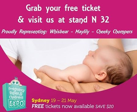 My Little Heart will be at the Pregnancy Babies and Children's Expo in Sydney