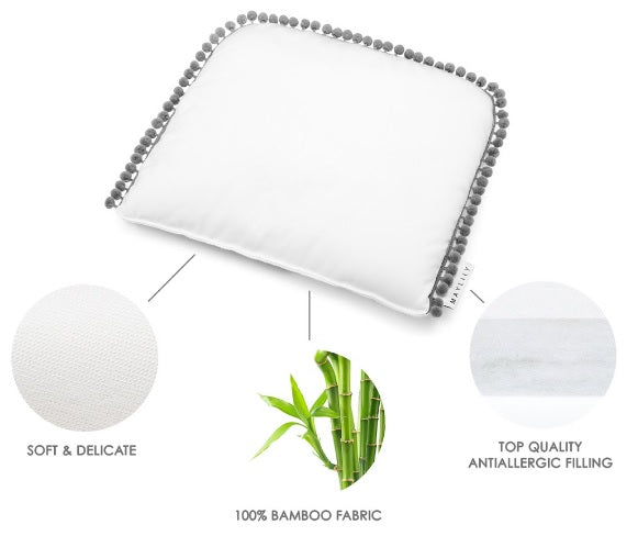 Bamboo Flat Pillow Information