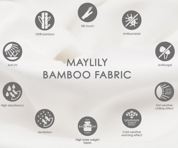 Maylily Bamboo Fabric Information
