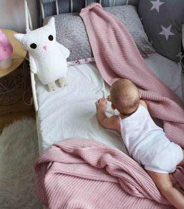 Owl Cushion With Baby