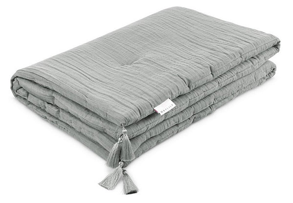 Muslin Duvet with Tassels