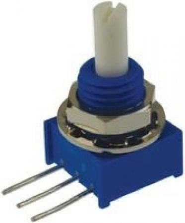 B1K Square 9mm Rotary Horizontal Potentiometer