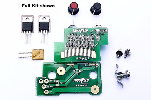BP 1 Transistor Slot Car Controller Kit