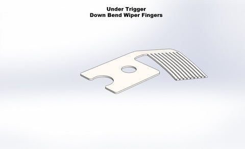 Contact Wiper Fingers Under Trigger Down Bend