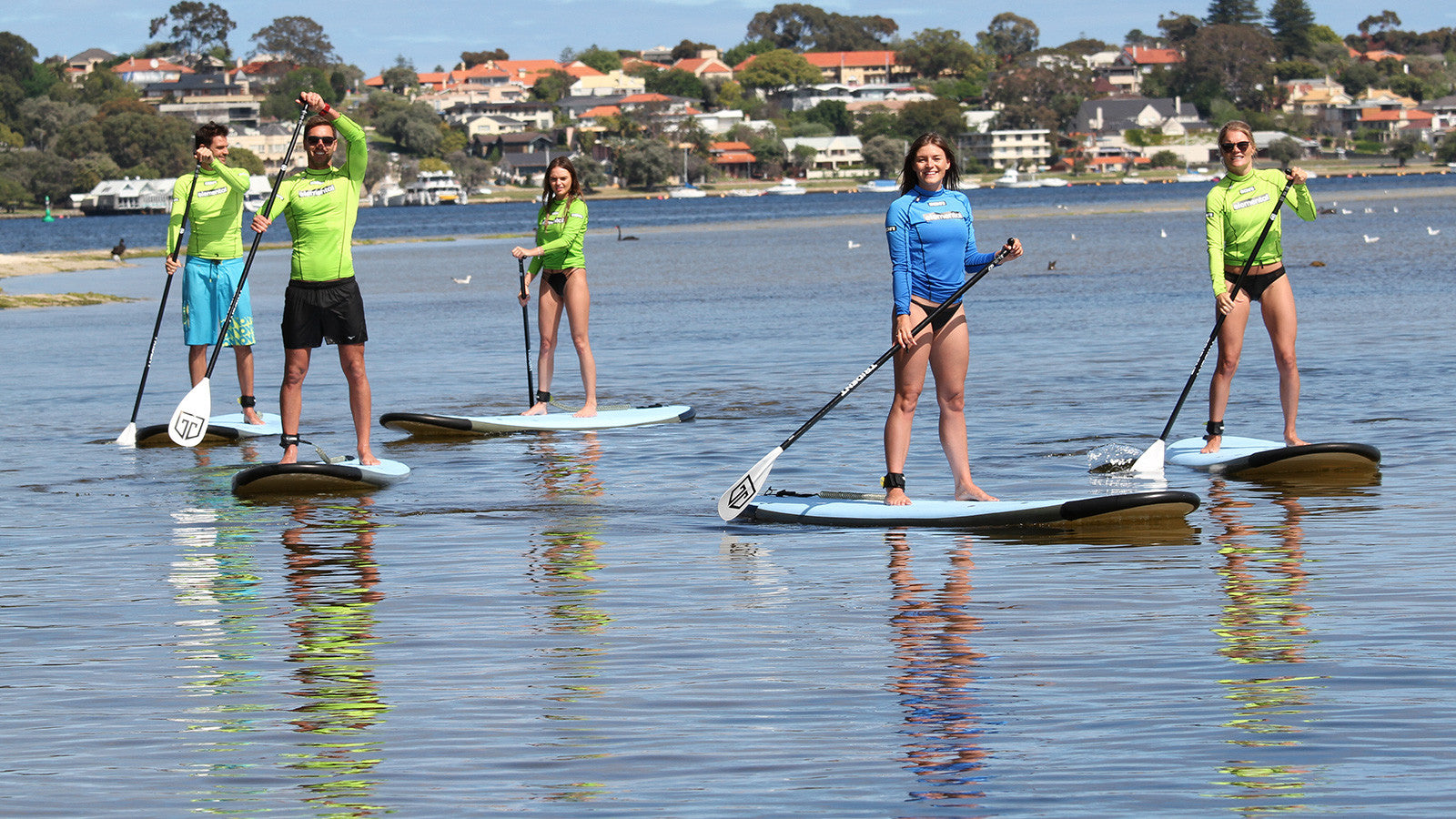 TOP 5 REASONS TO GET STAND UP PADDLE LESSONS