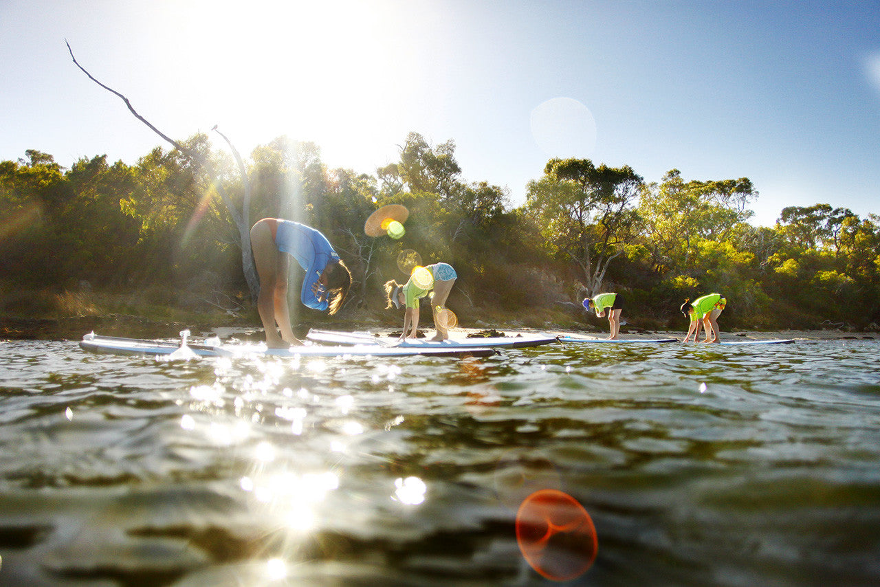STAND UP PADDLE PERTH YOGA