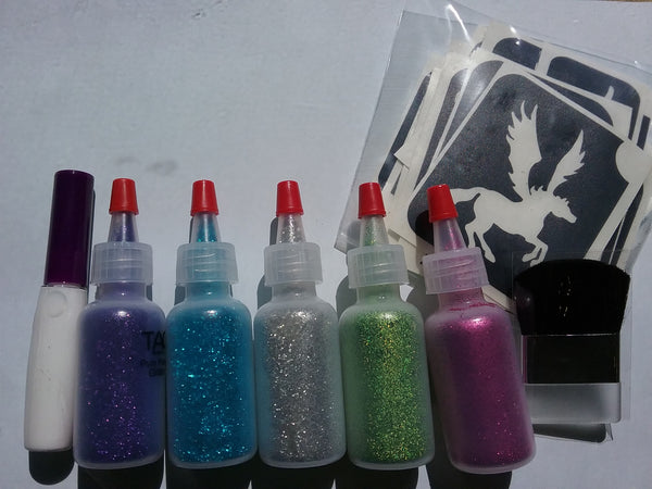 Glitter Tattoo Kit *Girls*