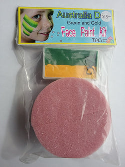 TAG One-stroke & Sponge Kit, Green & Gold 30g paint