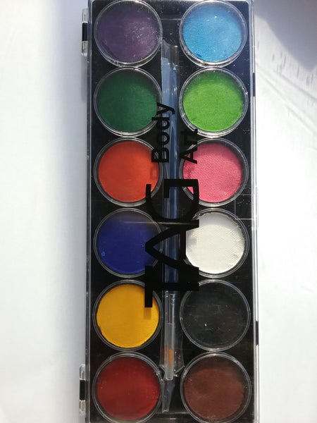 TAG Regular Face Paint Palette (12 x 10g)