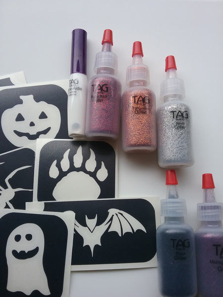 Glitter Tattoo Kit *Halloween*