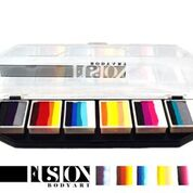 FUSION One-Stroke Palette, FX Hero Power by Onalee Rivera, 6 x 10g