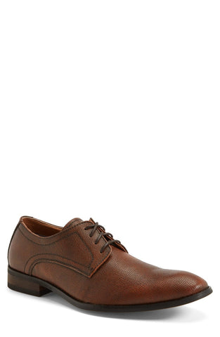'Duff' Plain Toe Leather Derby (Men)
