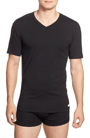Calvin Klein - Stretch Cotton V-Neck T-Shirt (2-Pack) - shop on Greybox