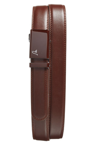 Mission Belt - 'Chocolate' Leather Belt - shop on Greybox