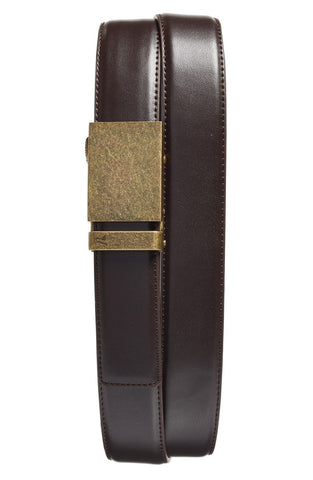 Mission Belt - 'Bronze' Leather Belt - shop on Greybox