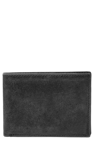 Fossil - 'Anderson' Leather Front Pocket Bifold Wallet - shop on Greybox