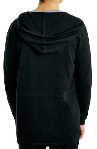 Topman - Open Front Knit Hooded Jacket - shop on Greybox