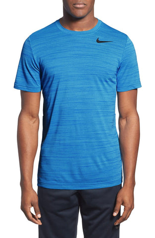 Nike - Dri-FIT Touch Heathered Short Sleeve T-Shirt - shop on Greybox