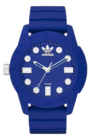 adidas - 'adi-1969' Silicone Strap Watch, 44mm - shop on Greybox