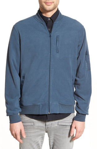 TAVIK - 'Bronson' Fleece Zip Bomber Jacket - shop on Greybox