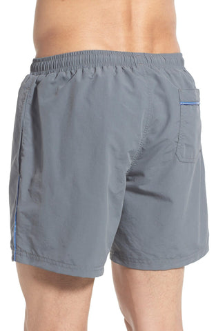 BOSS - 'Leafish' Swim Trunks - shop on Greybox