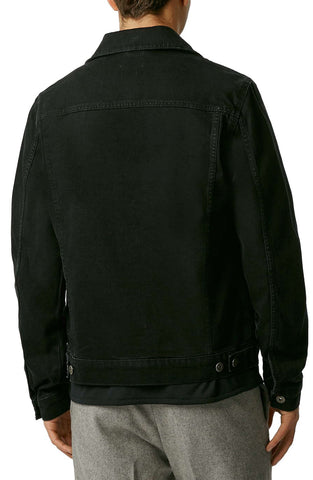 Topman - Black Denim Western Jacket - shop on Greybox