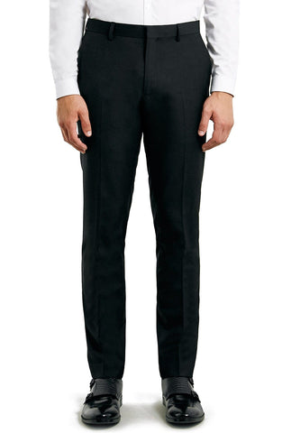 Topman - Skinny Fit Black Suit Trousers - shop on Greybox
